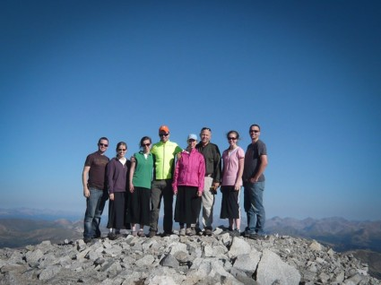 The Maxwell's on the summit