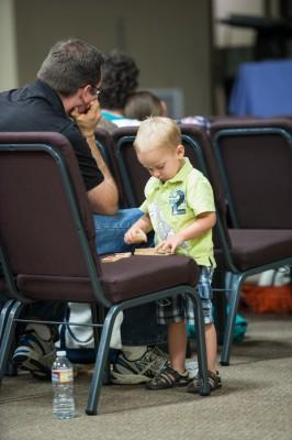 We love having children at conferences.