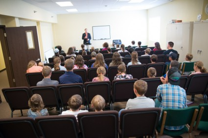John's session for young people.