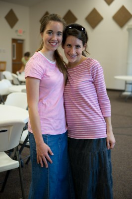 Mary and Elissa