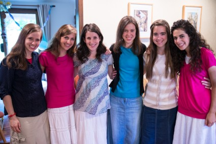 I realized this was the entire bride/bridesmaid lineup 11 months ago.