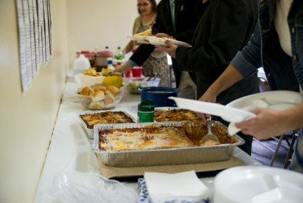 They made us a delicious lunch AND supper (later).