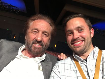 Mr. Ray Comfort and John--the girls also met him last night--so neat!