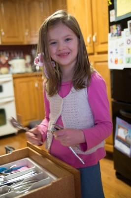 Abigail, a great helper.