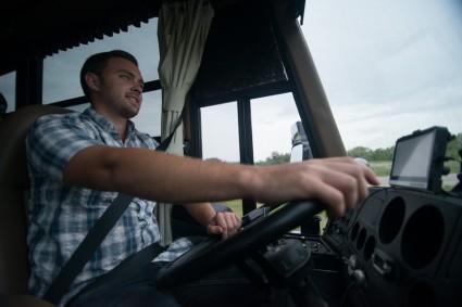 John, driving