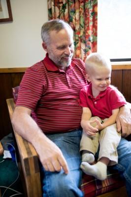 Grandpa and Josh