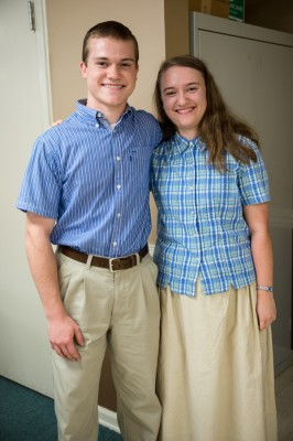 Our brother-sister coordinators.