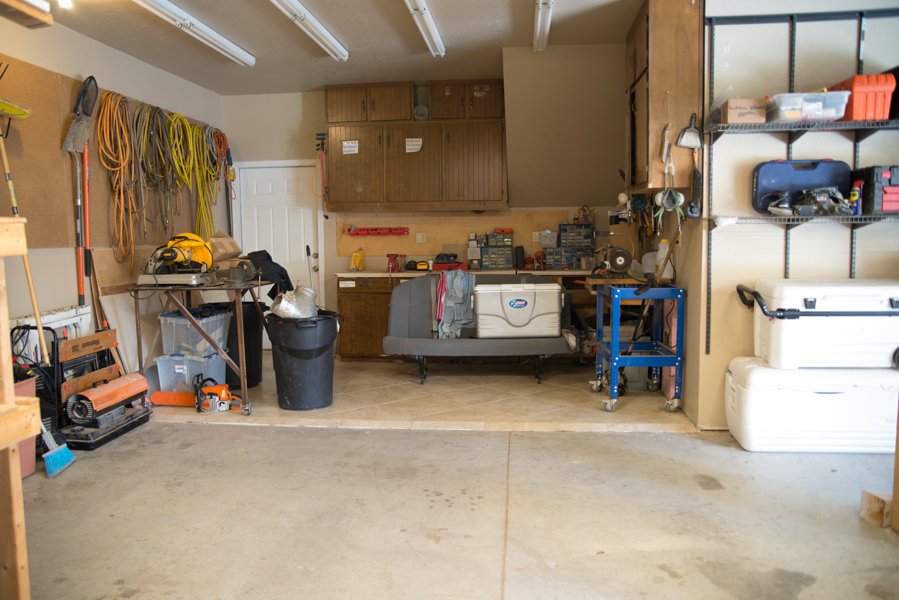 A garage transformation maxwell family blog for Garage transformation