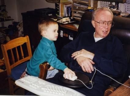 Jesse and Grandad