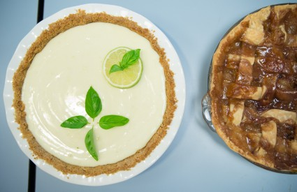Key lime pie and apple were runner ups in popularity, but John's was top!