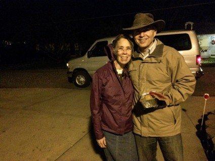 Teri and Steve Maxwell
