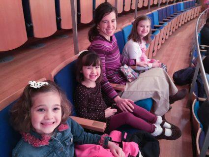 Betsy, Tina, me, and Abby
